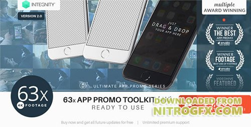 The Ultimate App Promo - UltraHD Mockup Toolkit - Project for After Effects (Videohive)