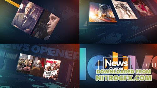News Opener 20952510 - Project for After Effects (Videohive)