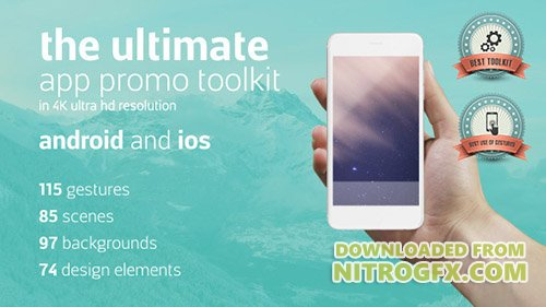 Ultimate App Promo Toolkit - Project for After Effects (Videohive)