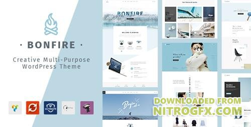 ThemeForest - Bonfire v1.2.0 - Creative Multipurpose WordPress Theme - 20280361
