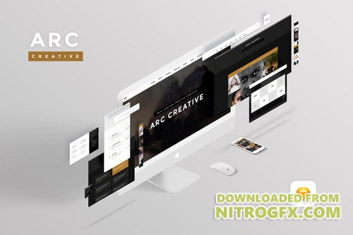 Arc Creative - UI Sketch Template