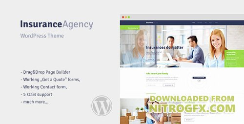ThemeForest - Insurance v1.0 - WordPress Theme for Insurance Agency - 12014130