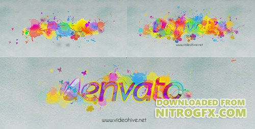 Logo Revealer Paint Drops Design - Project for After Effects (Videohive)