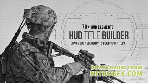 HUD Title Builder - Project for After Effects (Videohive)