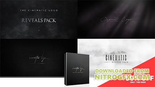 Cinematic Logo Reveals Pack - Project for After Effects (Videohive)