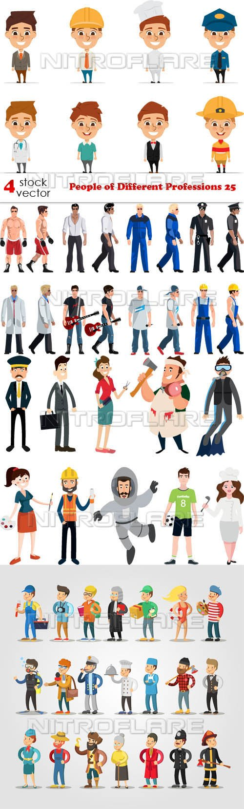 Vectors - People of Different Professions 25