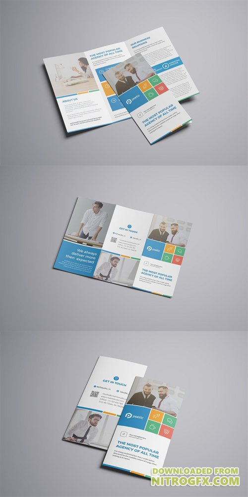 Metro Trifold Brochure