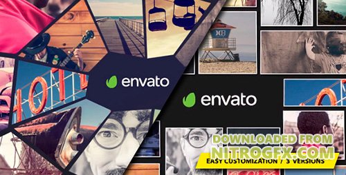 Photo Mosaic Logo - Project for After Effects (Videohive)