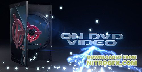 DVD Case Advertisement - Project for After Effects (Videohive)