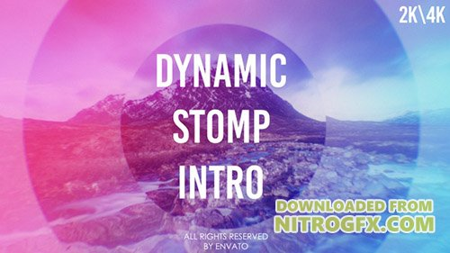Dynamic Stomp Intro - Project for After Effects (Videohive