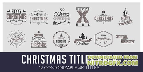 Christmas Titles Pack - Project for After Effects (Videohive)
