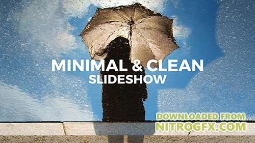 Minimal & Clean Slideshow - Project for After Effects (Videohive)