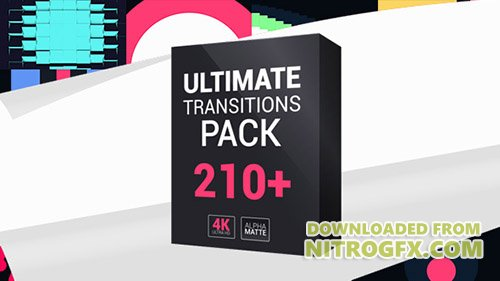 Ultimate Transitions Pack 4K - Project for After Effects (Videohive)