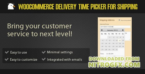 CodeCanyon - Woocommerce Delivery Time Picker for Shipping v3.0 - 3787963
