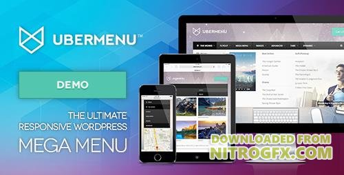 CodeCanyon - UberMenu v3.3.1.1 - WordPress Mega Menu Plugin - 154703