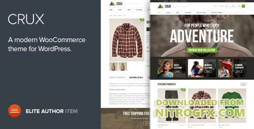 ThemeForest - Crux v1.8.8 - A modern and lightweight WooCommerce theme - 6503655