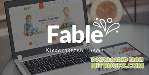 ThemeForest - Fable v3.0 - Children Kindergarten WordPress Theme - 9294431