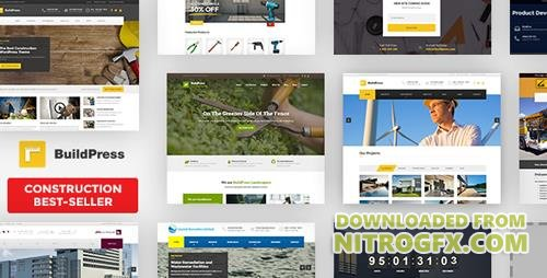 ThemeForest - BuildPress v5.3.1 - Multi-purpose Construction and Landscape WP Theme - 9323981 - NULLED