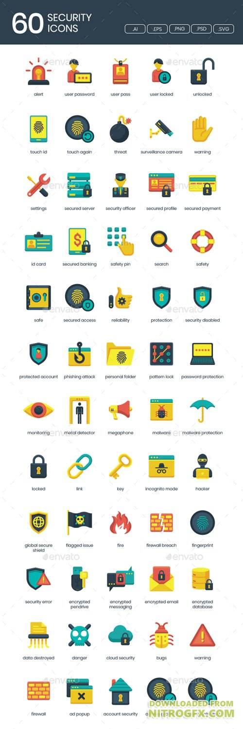 IT Security Icons 20951177
