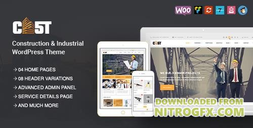 ThemeForest - CAST v1.2.0 - Construction, Industrial & Building Responsive WordPress Theme - 19590274