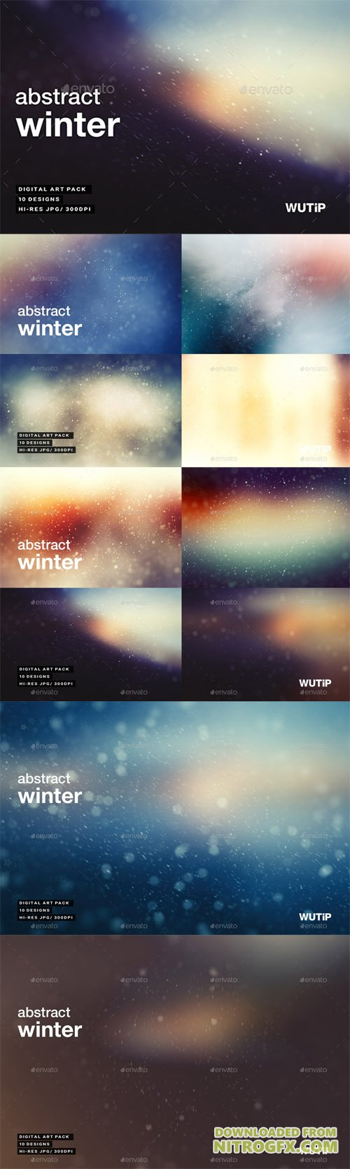 Abstract Winter Backgrounds 20664138