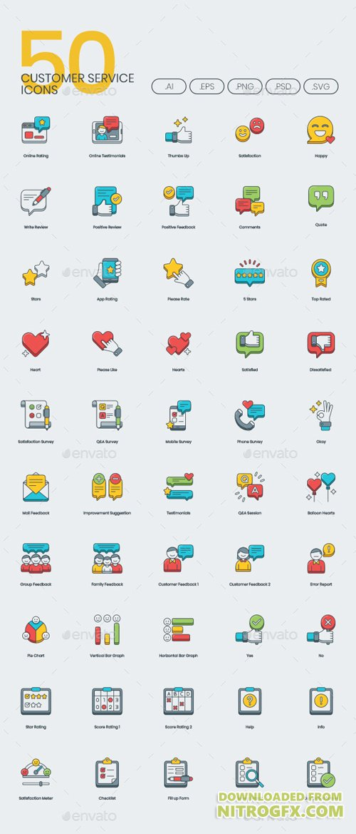 Customer Service Icons 20909414