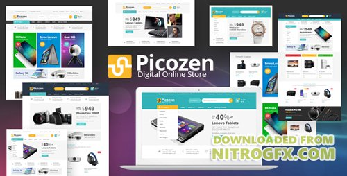 ThemeForest - Picozen v1.0 - Responsive Magento 2 Theme (Update: 1 November 17) - 20616826