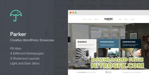 ThemeForest - Parker v1.5.1 - Creative WordPress Showcase - 6906092