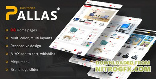 ThemeForest - Pallas v1.0 - Responsive Magento Theme (Update: 27 September 17) - 20481649