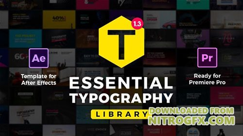 Essential Titles and Lower Thirds - Project for After Effects (Videohive)