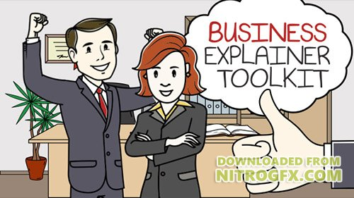 Business Explainer Toolkit - Project for After Effects (Videohive)