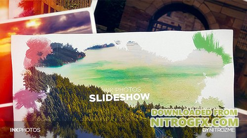 Ink Photos - Project for After Effects (Videohive)