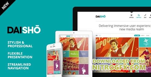 ThemeForest - Daisho v3.1 - Flexible WordPress Portfolio Theme - 2585124