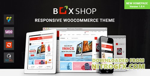 ThemeForest - BoxShop v1.0.4 - Responsive WooCommerce WordPress Theme - 20035321