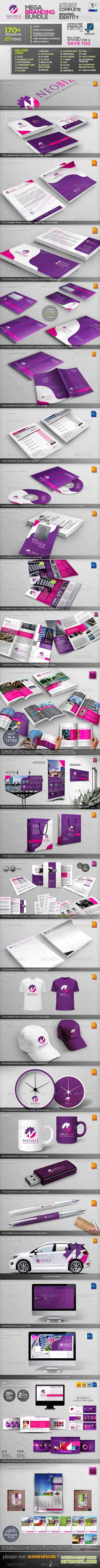 GR - NeoBiz: Corporate Business ID Mega Branding Bundle 3427614