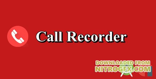 CodeCanyon - Call Recorder v1.0 - 19601753