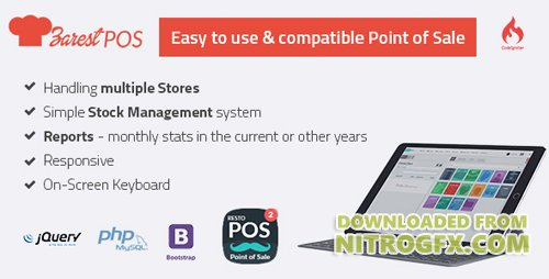 CodeCanyon - ZARest POS v2.0.0 - restaurant point of sale web application - 17837041