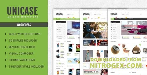 ThemeForest - Unicase v1.5.0 - Electronics Store WooCommerce Theme - 13626672