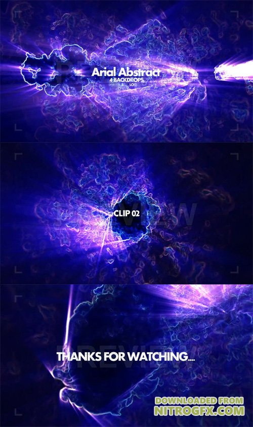 Arial Abstract Pack Motion Graphic