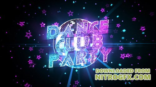 Dance Club Party Promo 6420908 - Project for After Effects (Videohive)