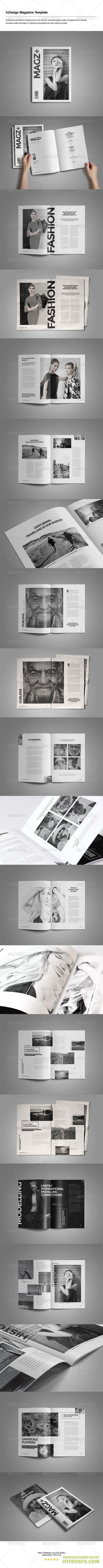 Indesign Magazine Template 8226069