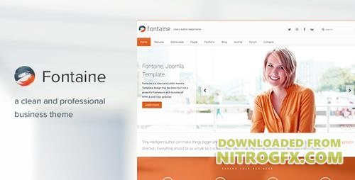 ThemeForest - Fontaine v2.6.0 - Responsive Joomla Business Template - 2593291