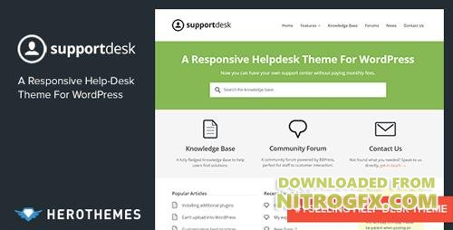 ThemeForest - Support Desk v1.0.17 - A Responsive Helpdesk Theme - 4321280