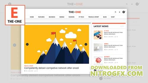 ThemeForest - The One v1.7 - News Magazine Blog - Responsive WordPress Theme - 15345802