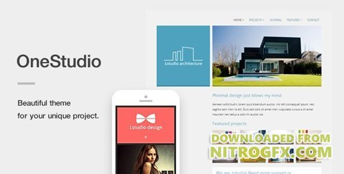 ThemeForest - OneStudio v3.0.1 - A Unique Responsive WordPress Theme - 5015013