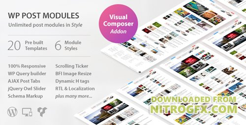 CodeCanyon - WP Post Modules v1.9.2 for NewsPaper and Magazine Layouts - 20142309