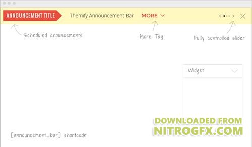 Themify - Announcement Bar v1.2.6 - WordPress Plugin
