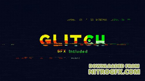 Glitch Logo Opener 20795511 - Project for After Effects (Videohive)