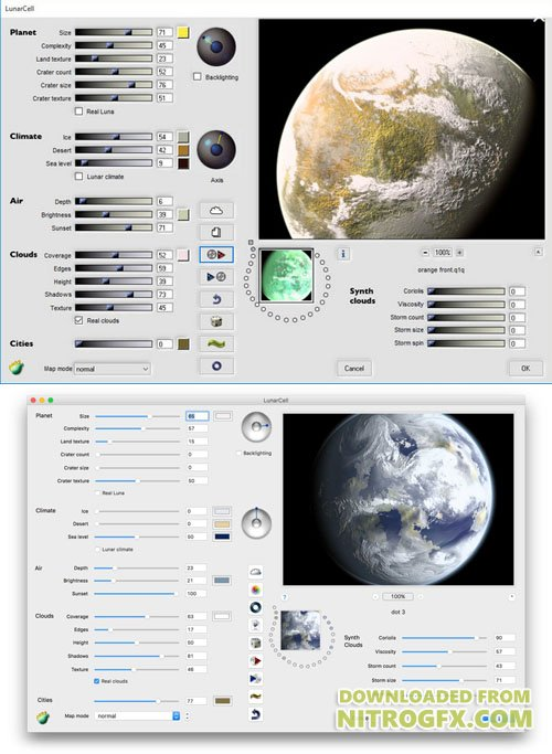 LunarCell [1.98 for Win x86-x64] & [1.99 for Mac] Plugin for Photoshop