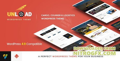 ThemeForest - Unload v1.4.4 - Cargo, Shipping, Logistics, Trucking, Warehouse & Transport WordPress Theme - 16815477